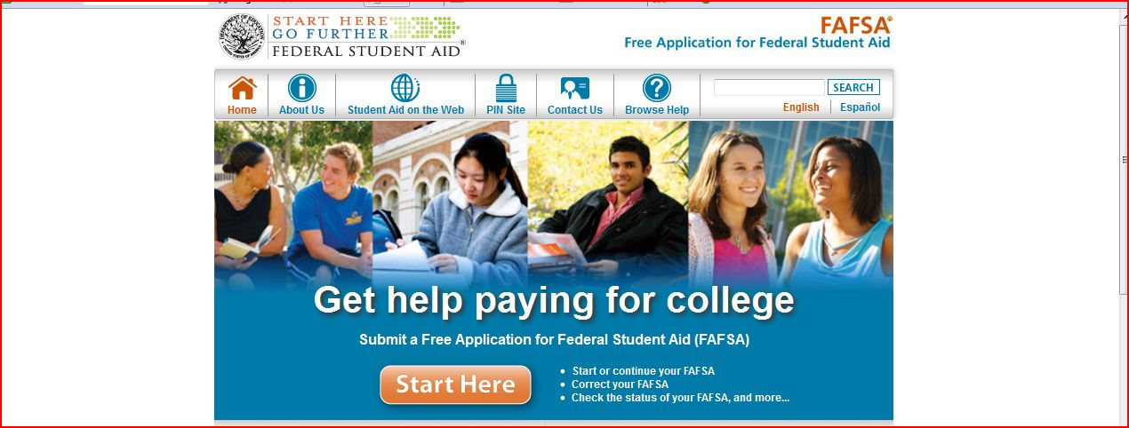 fafsa free application for student aid